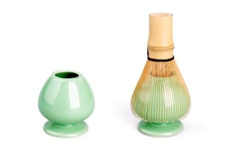 Bambusbesenhalter Beispielbild zur Aufbewahrung des Besens