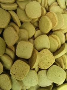 Vegane Matcha-Squares
