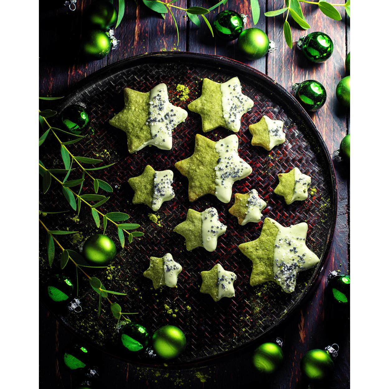 Grüne-Weihnachtssterne