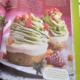Rohe, vegane Matcha Cupcakes